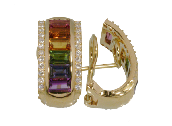 Jungbluth the rainbow collection Serra Ohrringe