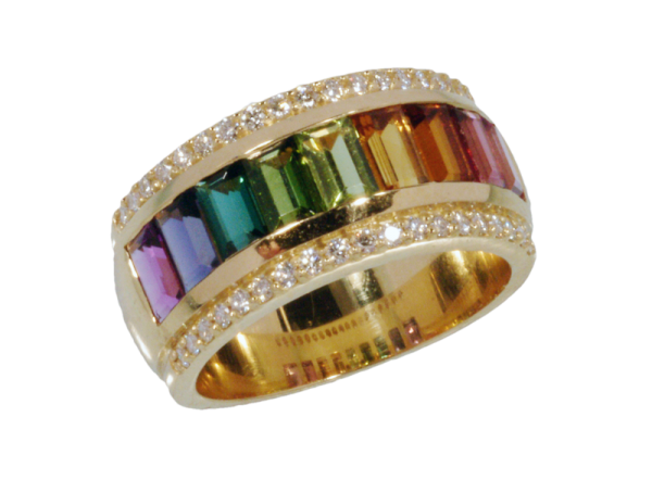 Jungbluth the rainbow collection Serra Ring