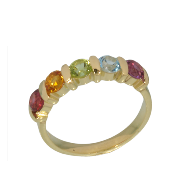 Jungbluth the rainbow collection Valencia Ring