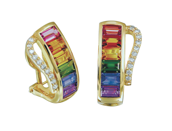 Jungbluth the rainbow collection Verona Ohrringe