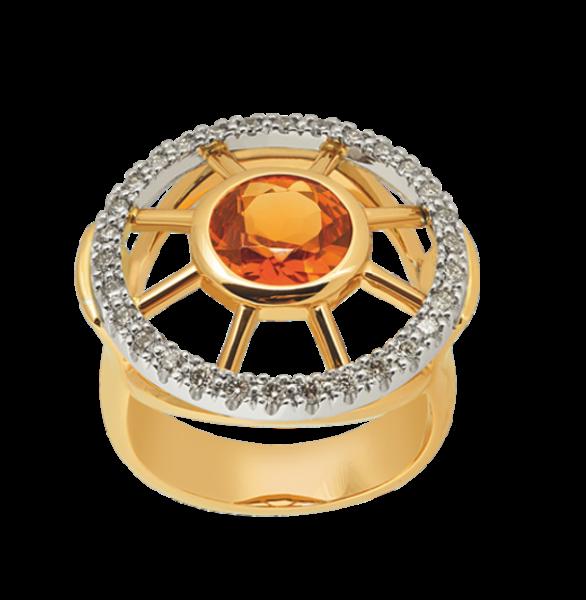 Jungbluth Farbstein Set`s Saragossa Ring