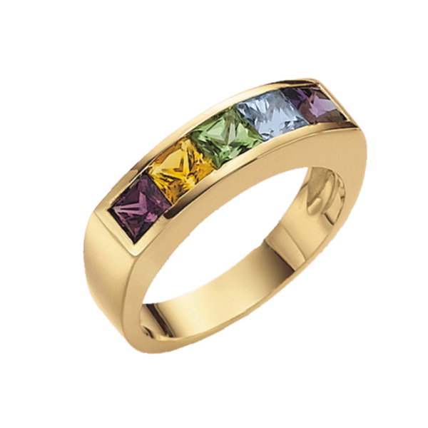 Jungbluth the rainbow collection Mono Ring