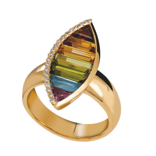 Jungbluth the rainbow collection Malaga Ring
