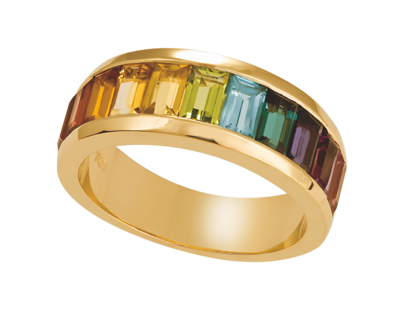 the rainbow collection Marbella Ring