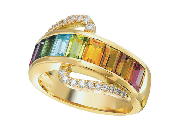 Jungbluth the rainbow collection Verona Ring