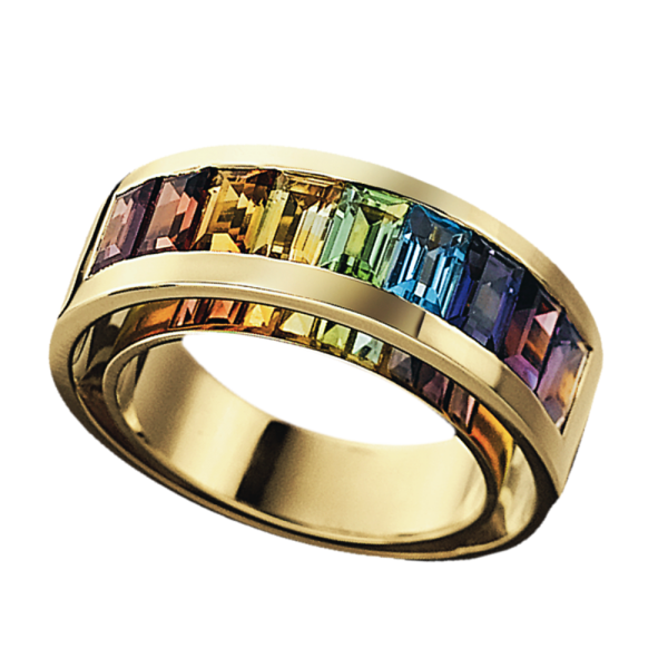 Jungbluth the rainbow collection 3D-Design Ring
