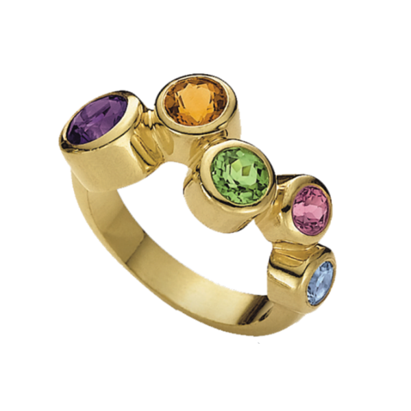 Jungbluth the rainbow collection Sommertime Ring