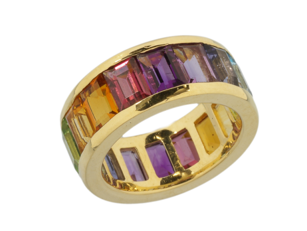 Jungbluth the rainbow collection Natal Ring